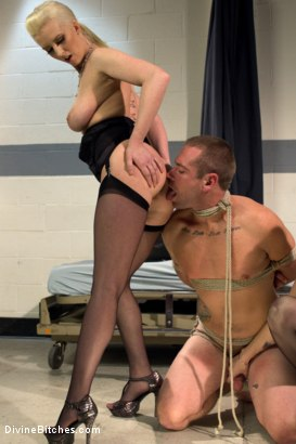 Photo number 11 from The Sperm Bank shot for Divine Bitches on Kink.com. Featuring Cherry Torn, Orlando, John Jammen and Bella Rossi in hardcore BDSM & Fetish porn.