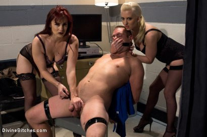 Photo number 12 from The Sperm Bank shot for Divine Bitches on Kink.com. Featuring Cherry Torn, Orlando, John Jammen and Bella Rossi in hardcore BDSM & Fetish porn.