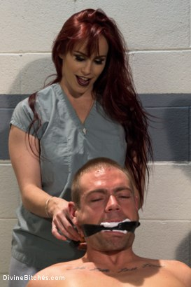 Photo number 14 from The Sperm Bank shot for Divine Bitches on Kink.com. Featuring Cherry Torn, Orlando, John Jammen and Bella Rossi in hardcore BDSM & Fetish porn.