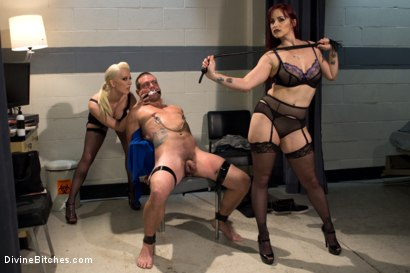 Photo number 3 from The Sperm Bank shot for Divine Bitches on Kink.com. Featuring Cherry Torn, Orlando, John Jammen and Bella Rossi in hardcore BDSM & Fetish porn.