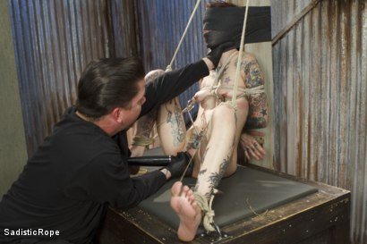 Photo number 11 from FISTING, WATER BOARDING, EXTREME TORMENT, AND BRUTAL BONDAGE!!! shot for Sadistic Rope on Kink.com. Featuring Krysta Kaos in hardcore BDSM & Fetish porn.