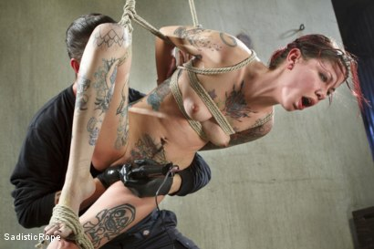 Photo number 8 from FISTING, WATER BOARDING, EXTREME TORMENT, AND BRUTAL BONDAGE!!! shot for Sadistic Rope on Kink.com. Featuring Krysta Kaos in hardcore BDSM & Fetish porn.