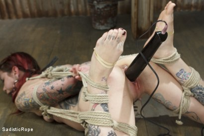 Photo number 3 from FISTING, WATER BOARDING, EXTREME TORMENT, AND BRUTAL BONDAGE!!! shot for Sadistic Rope on Kink.com. Featuring Krysta Kaos in hardcore BDSM & Fetish porn.