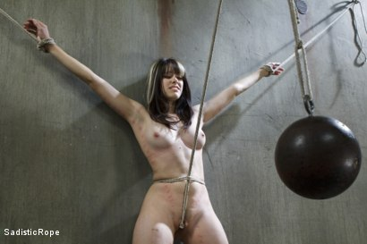 Photo number 10 from First timer gets a lesson in suffering and bondage. shot for Sadistic Rope on Kink.com. Featuring Katt Anomia in hardcore BDSM & Fetish porn.