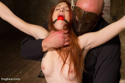 Photo number 3 from Redhead Newcomer Taken by Sergeant Major shot for Hogtied on Kink.com. Featuring Sgt. Major and Ashley Lane in hardcore BDSM & Fetish porn.