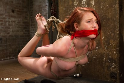 Photo number 8 from Redhead Newcomer Taken by Sergeant Major shot for Hogtied on Kink.com. Featuring Sgt. Major and Ashley Lane in hardcore BDSM & Fetish porn.