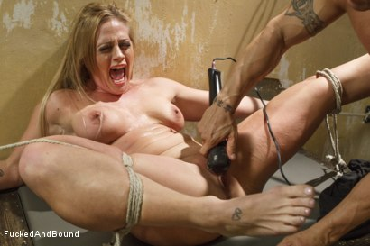 Photo number 5 from MILF Gets Ass Fucked in Tight Bondage shot for Brutal Sessions on Kink.com. Featuring Derrick Pierce and Holly Heart in hardcore BDSM & Fetish porn.