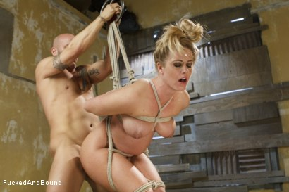 Photo number 6 from MILF Gets Ass Fucked in Tight Bondage shot for  on Kink.com. Featuring Derrick Pierce and Holly Heart in hardcore BDSM & Fetish porn.