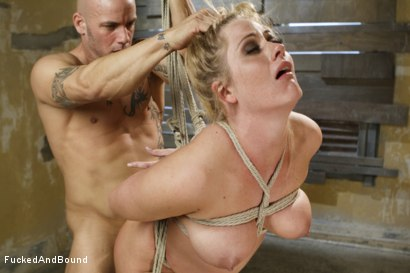 Photo number 7 from MILF Gets Ass Fucked in Tight Bondage shot for  on Kink.com. Featuring Derrick Pierce and Holly Heart in hardcore BDSM & Fetish porn.