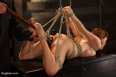 Photo number 15 from Big Titted Torment shot for Hogtied on Kink.com. Featuring Sgt. Major and Krissy Lynn in hardcore BDSM & Fetish porn.