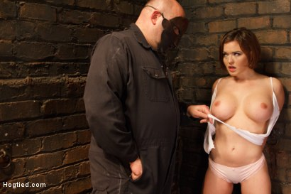 Photo number 10 from Big Titted Torment shot for Hogtied on Kink.com. Featuring Sgt. Major and Krissy Lynn in hardcore BDSM & Fetish porn.