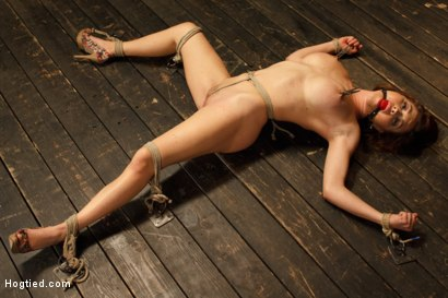 Photo number 3 from Big Titted Torment shot for Hogtied on Kink.com. Featuring Sgt. Major and Krissy Lynn in hardcore BDSM & Fetish porn.