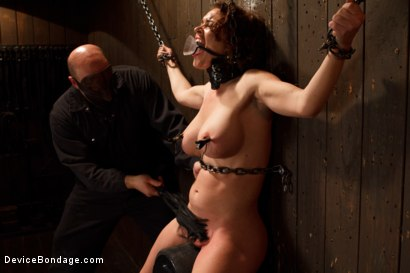 Photo number 12 from Menacing Sadist  shot for Device Bondage on Kink.com. Featuring Sgt. Major and Krissy Lynn in hardcore BDSM & Fetish porn.