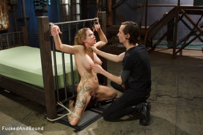 Photo number 2 from Rain Degrey is annihilated by massive cock shot for Fucked and Bound on Kink.com. Featuring Rain DeGrey and Owen Gray in hardcore BDSM & Fetish porn.