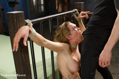 Photo number 4 from Rain Degrey is annihilated by massive cock shot for Fucked and Bound on Kink.com. Featuring Rain DeGrey and Owen Gray in hardcore BDSM & Fetish porn.
