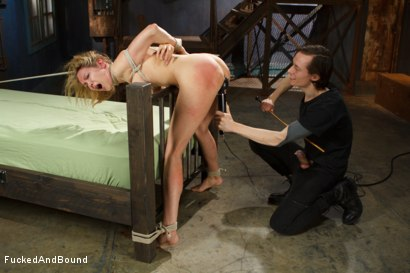 Photo number 6 from Rain Degrey is annihilated by massive cock shot for Fucked and Bound on Kink.com. Featuring Rain DeGrey and Owen Gray in hardcore BDSM & Fetish porn.