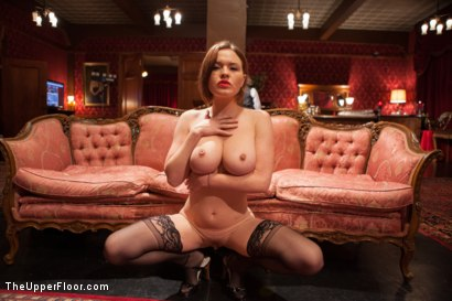 Photo number 2 from Krissy Lynn's Big Round Ass Fucked and Gives Newbie Slut Porno Lessons shot for The Upper Floor on Kink.com. Featuring Mickey Mod, Krissy Lynn, Lea Lexis, Owen Gray, Mona Wales and Sahara Rain in hardcore BDSM & Fetish porn.