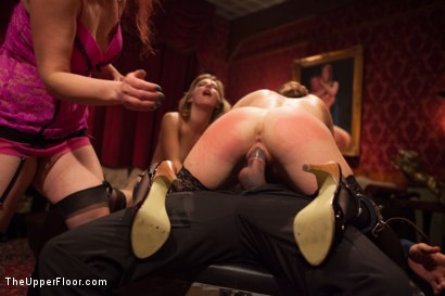 Photo number 14 from Krissy Lynn's Big Round Ass Fucked and Gives Newbie Slut Porno Lessons shot for The Upper Floor on Kink.com. Featuring Mickey Mod, Krissy Lynn, Lea Lexis, Owen Gray, Mona Wales and Sahara Rain in hardcore BDSM & Fetish porn.