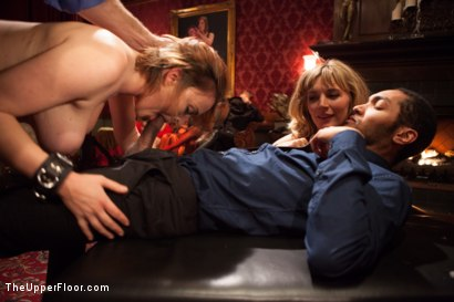 Photo number 9 from Krissy Lynn's Big Round Ass Fucked and Gives Newbie Slut Porno Lessons shot for The Upper Floor on Kink.com. Featuring Mickey Mod, Krissy Lynn, Lea Lexis, Owen Gray, Mona Wales and Sahara Rain in hardcore BDSM & Fetish porn.