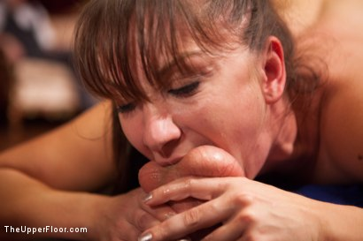 Photo number 6 from Lea Lexis Anal Fucked by Giant Cock and Newbie Slut Gets Porn Lessons shot for The Upper Floor on Kink.com. Featuring Mickey Mod, Krissy Lynn, Lea Lexis, Owen Gray, Mona Wales and Sahara Rain in hardcore BDSM & Fetish porn.