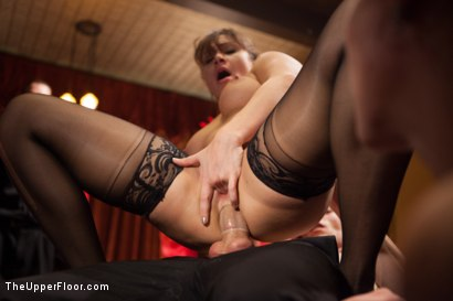 Photo number 9 from Lea Lexis Anal Fucked by Giant Cock and Newbie Slut Gets Porn Lessons shot for The Upper Floor on Kink.com. Featuring Mickey Mod, Krissy Lynn, Lea Lexis, Owen Gray, Mona Wales and Sahara Rain in hardcore BDSM & Fetish porn.