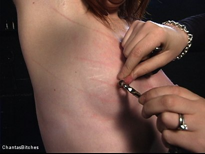 Photo number 2 from Severe Pain shot for Chantas Bitches on Kink.com. Featuring Trinity Post in hardcore BDSM & Fetish porn.