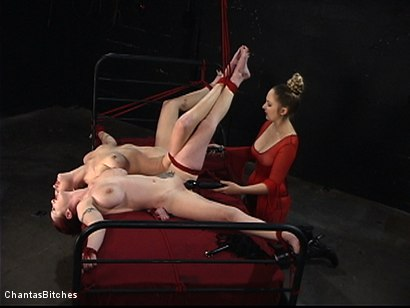 Photo number 13 from They Will Both Submit shot for Chantas Bitches on Kink.com. Featuring Mz Berlin and Sabrina Fox in hardcore BDSM & Fetish porn.