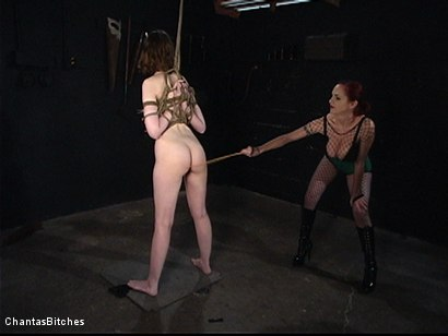 Photo number 4 from Tough And Anally Orgasmic shot for Chantas Bitches on Kink.com. Featuring Kristine and Mz Berlin in hardcore BDSM & Fetish porn.