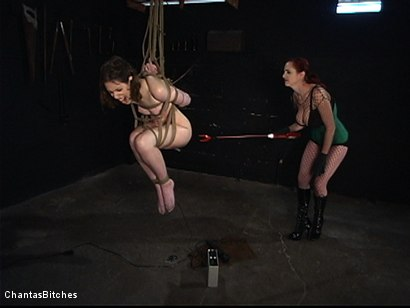 Photo number 8 from Tough And Anally Orgasmic shot for Chantas Bitches on Kink.com. Featuring Kristine and Mz Berlin in hardcore BDSM & Fetish porn.