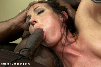 Photo number 9 from Wenona's first INTERRACIAL GANGBANG with CREAMPIE!  shot for Hardcore Gangbang on Kink.com. Featuring Wenona, Karlo Karrera, Prince Yahshua, Jack Napier and Tee Reel in hardcore BDSM & Fetish porn.