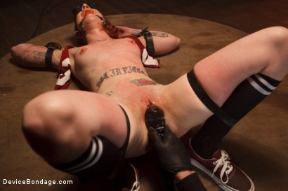 Photo number 5 from <strong>Blind Fear </strong><br>A Device Bondage Feature<br> shot for Device Bondage on Kink.com. Featuring Sheena Rose in hardcore BDSM & Fetish porn.