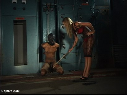 Photo number 3 from The Wormboy shot for Captive Male on Kink.com. Featuring Secret Agent and Brooke Banner in hardcore BDSM & Fetish porn.