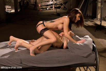 Photo number 13 from Dirty Slut Break Down: Katrina Jade shot for Whipped Ass on Kink.com. Featuring Gia DiMarco and Katrina Jade in hardcore BDSM & Fetish porn.