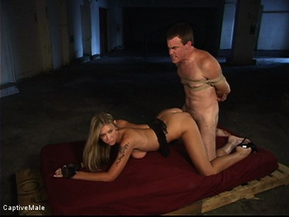Photo number 9 from She Strikes Lust And Fear shot for Captive Male on Kink.com. Featuring Brooke Banner and Wild Bill in hardcore BDSM & Fetish porn.