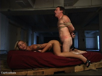 Photo number 15 from She Strikes Lust And Fear shot for Captive Male on Kink.com. Featuring Brooke Banner and Wild Bill in hardcore BDSM & Fetish porn.