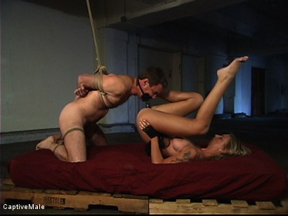 Photo number 6 from She Strikes Lust And Fear shot for Captive Male on Kink.com. Featuring Brooke Banner and Wild Bill in hardcore BDSM & Fetish porn.