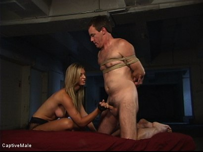 Photo number 8 from She Strikes Lust And Fear shot for Captive Male on Kink.com. Featuring Brooke Banner and Wild Bill in hardcore BDSM & Fetish porn.