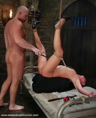 Photo number 12 from Mark Davis and Julie Night shot for Sex And Submission on Kink.com. Featuring Mark Davis and Julie Night in hardcore BDSM & Fetish porn.
