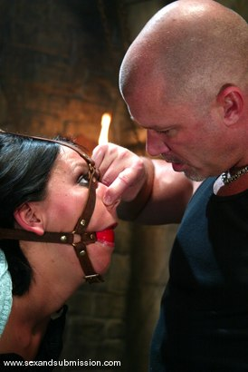 Photo number 4 from Mark Davis and Julie Night shot for Sex And Submission on Kink.com. Featuring Mark Davis and Julie Night in hardcore BDSM & Fetish porn.