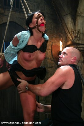 Photo number 2 from Mark Davis and Julie Night shot for Sex And Submission on Kink.com. Featuring Mark Davis and Julie Night in hardcore BDSM & Fetish porn.