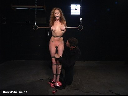 Photo number 4 from The Kinkiest Bitch shot for  on Kink.com. Featuring Otto Bauer and Audrey Hollander in hardcore BDSM & Fetish porn.
