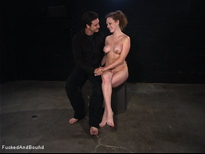 Photo number 8 from The Kinkiest Bitch shot for  on Kink.com. Featuring Otto Bauer and Audrey Hollander in hardcore BDSM & Fetish porn.