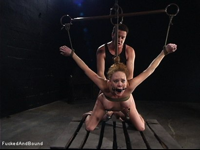 Photo number 10 from The Kinkiest Bitch shot for  on Kink.com. Featuring Otto Bauer and Audrey Hollander in hardcore BDSM & Fetish porn.