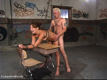 Photo number 15 from Coed Slut Disciplined shot for  on Kink.com. Featuring Bailey Brooks and Billy in hardcore BDSM & Fetish porn.