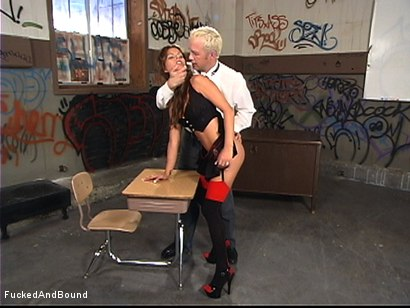 Photo number 3 from Coed Slut Disciplined shot for  on Kink.com. Featuring Bailey Brooks and Billy in hardcore BDSM & Fetish porn.