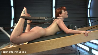 Photo number 14 from Pilates FuckingMachine! shot for Fucking Machines on Kink.com. Featuring Claire Robbins in hardcore BDSM & Fetish porn.