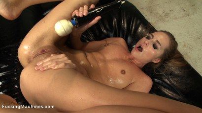 Photo number 10 from Those in the front row WILL GET WET - A Mega Squirter shot for Fucking Machines on Kink.com. Featuring Roxy Rox in hardcore BDSM & Fetish porn.