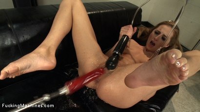 Photo number 11 from Those in the front row WILL GET WET - A Mega Squirter shot for Fucking Machines on Kink.com. Featuring Roxy Rox in hardcore BDSM & Fetish porn.