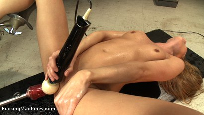 Photo number 9 from Those in the front row WILL GET WET - A Mega Squirter shot for Fucking Machines on Kink.com. Featuring Roxy Rox in hardcore BDSM & Fetish porn.