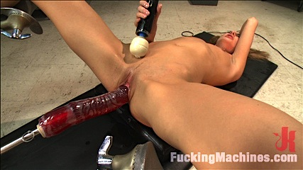 Those in the front row WILL GET WET – A Mega Squirter